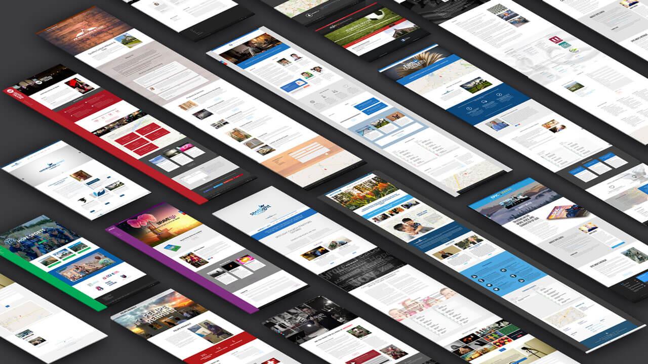 some WordPress websites