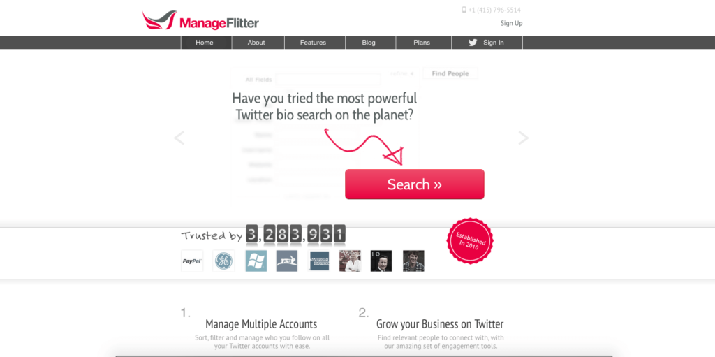 Mange Flitter is great for building your twitter following