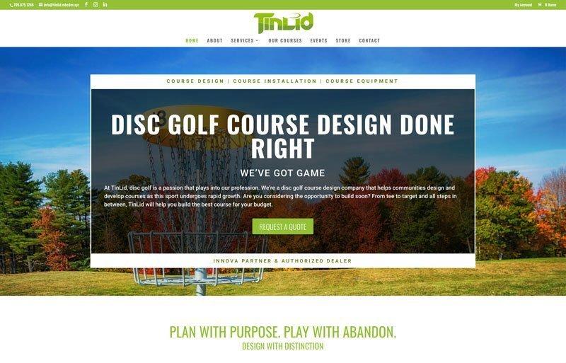 TinLid Disc Golf